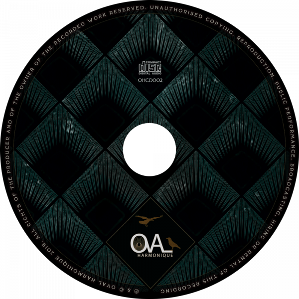 OHCD002 - CD (Oval Harmonique)