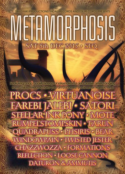 Flyer - Metamorphosis (Australia 2015)